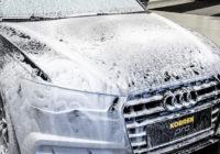 Aloita auton peseminen huolellisella esipesulla.